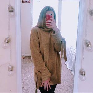 Cozy Loose Turtleneck Sweater